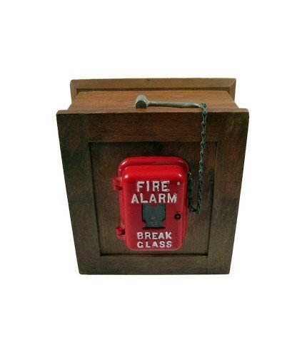Back to the Future Fire Alarm Movie Props