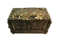 National Treasure Treasure Room Artifacts: Gold Chest