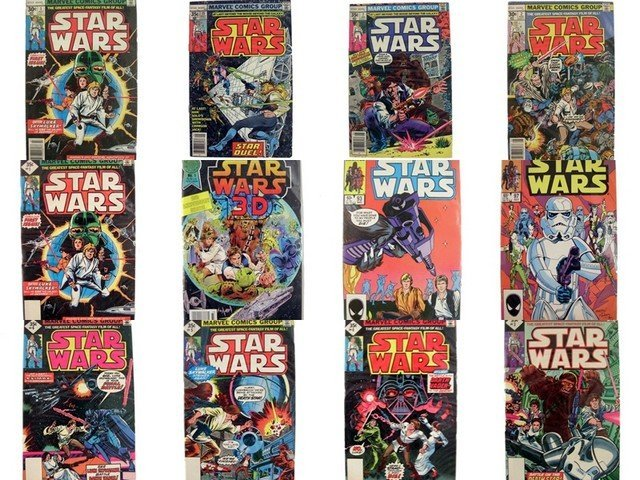 Star Wars Marvel Sept 15, Original 1977 Comic Book