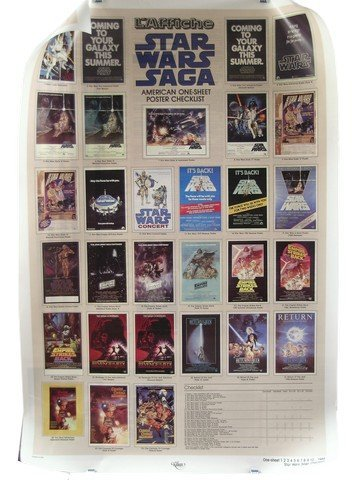 Star Wars Double Sided Theatrical Poster