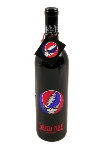 Grateful Dead Limited Edition Steal Your Face Un-Wine