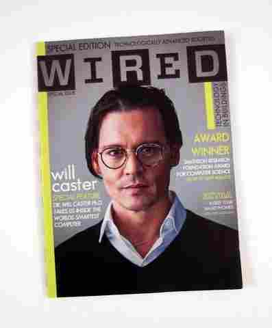 Transcendence 'Wired' magazine Will Caster (Johnny