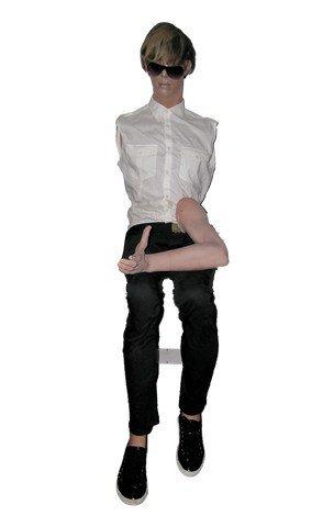 Brüno (Sacha Baron Cohen) Mannequin Movie Props