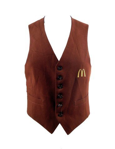 Coming To America Semmi (Arsino Hall) McDonald's Vest