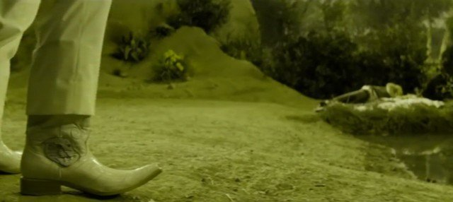 Casa De Mi Padre Onza (Gael Garcia Bernal) Cowboy Boots - 9