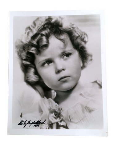 Shirley Temple Autographed Photo