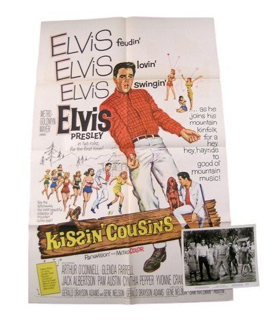 Kissing Cousins Original Theatrical Movie Poster 1964