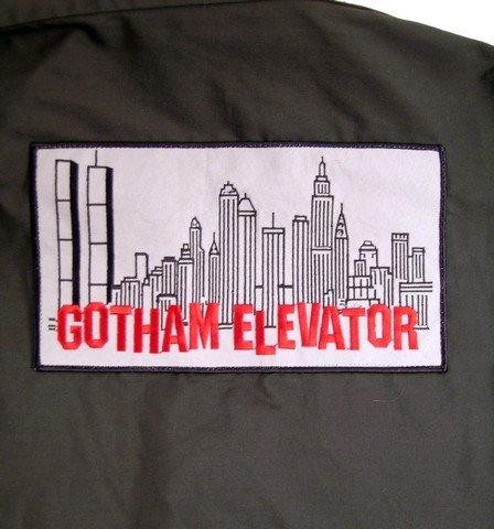 Batman And Robin Gotham Elevator Shirt Movie Costumes - 4