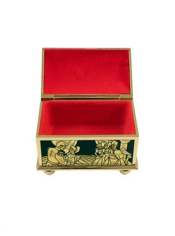 Sleeping Beauty Gold Trinket Box Movie Collectible - 2
