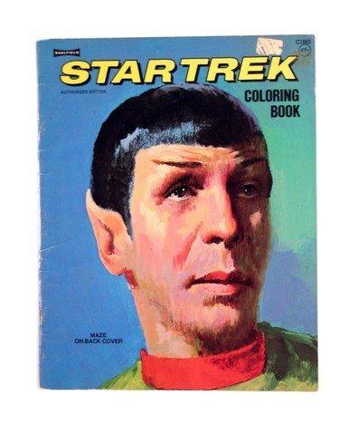 Leonard Nimoy Star Trek Coloring Book 1975