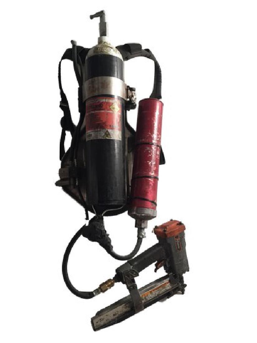 Resident Evil 6 Dr. Isaacs (Iain Glen) Nail Gun with