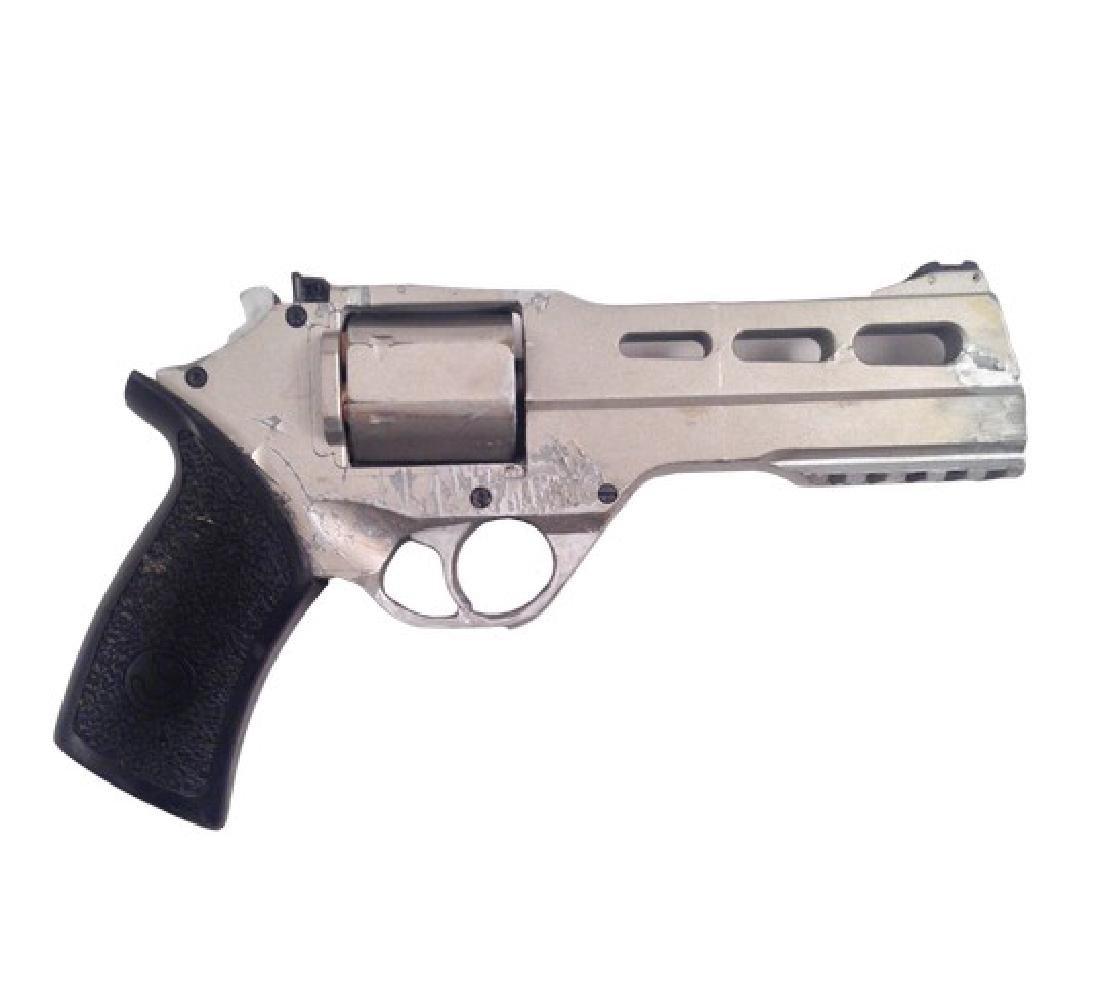 Resident Evil 6 Dr. Isaacs (Iain Glen) Rhino Gun Movie