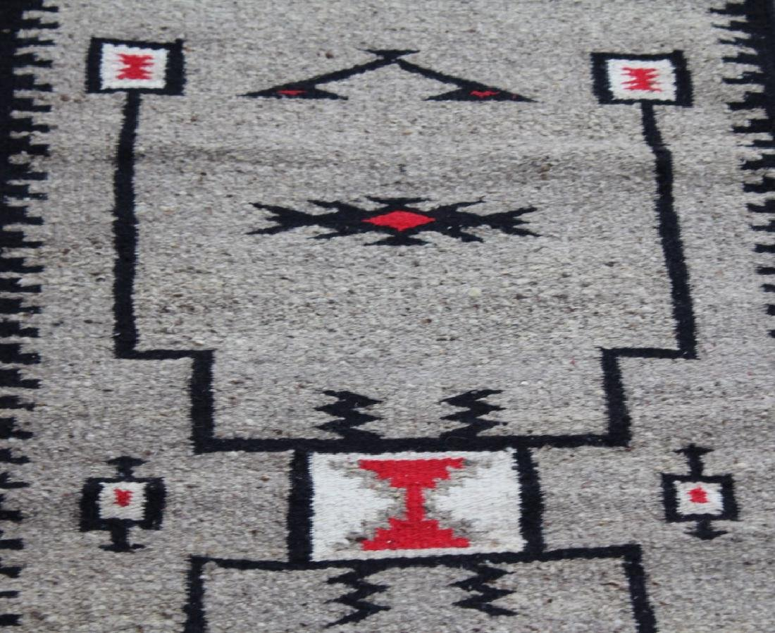 MEXICAN ZAPOTEC WOOL RUG - 3