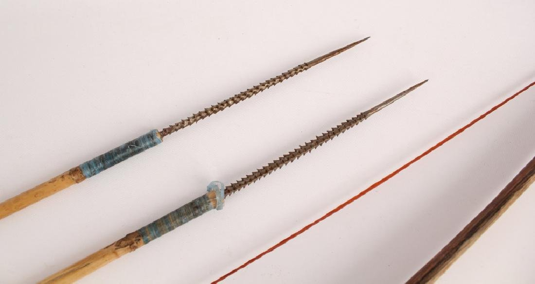 AFRICAN SHORT BOW AND ARROW SET - 2