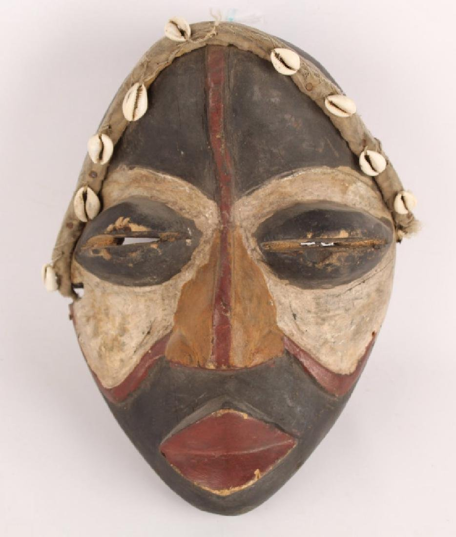 AFRICAN DAN TRIBE WOODEN MASK
