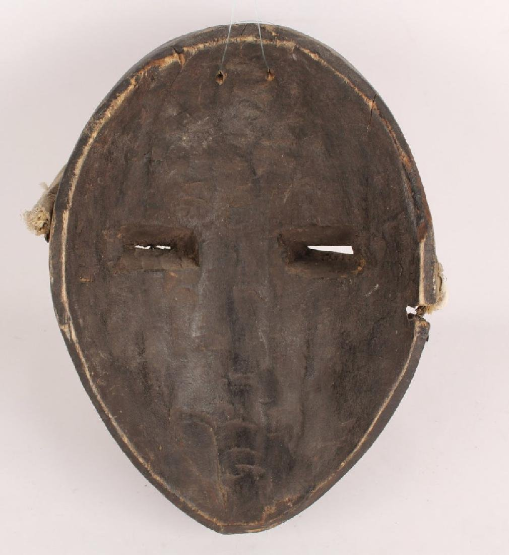 AFRICAN DAN TRIBE WOODEN MASK - 2
