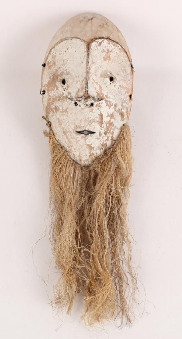 AFRICAN FANG TRIBAL WOODEN MASK