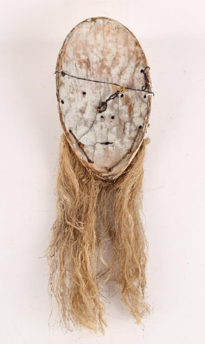 AFRICAN FANG TRIBAL WOODEN MASK - 3