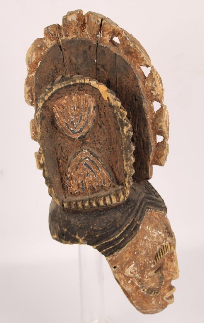 AFRICAN NIGERIA IGBO WOODEN MASK - 2