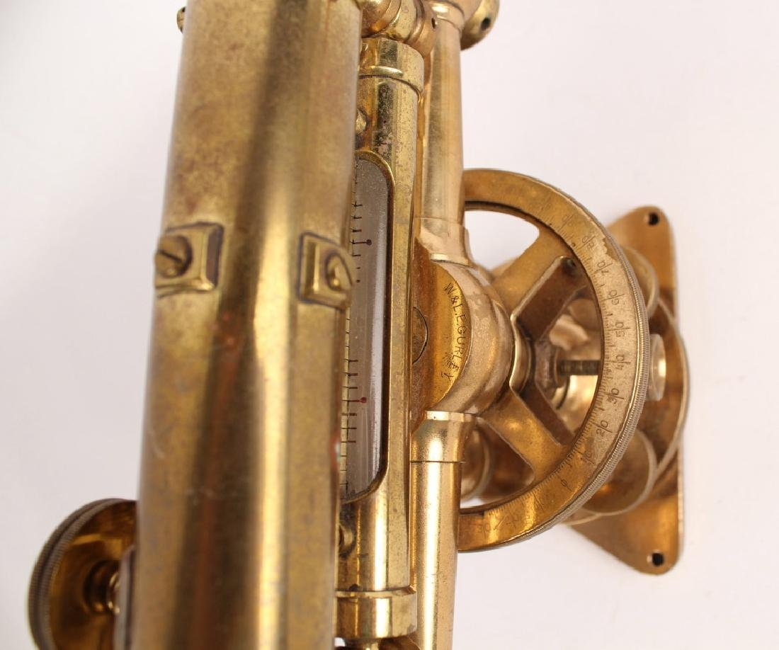 W & L.E. GURLEY BRASS TRANSIT LEVEL - 2
