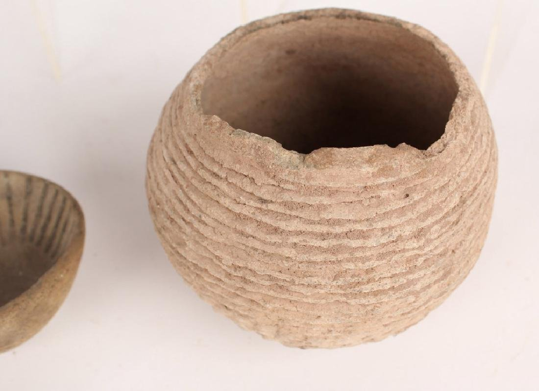 4 PIECES OF ANASAZI POTTERY - 4