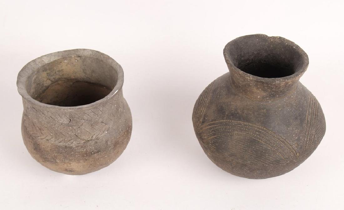 2 PIECES OF MISSISSIPPIAN POTTERY