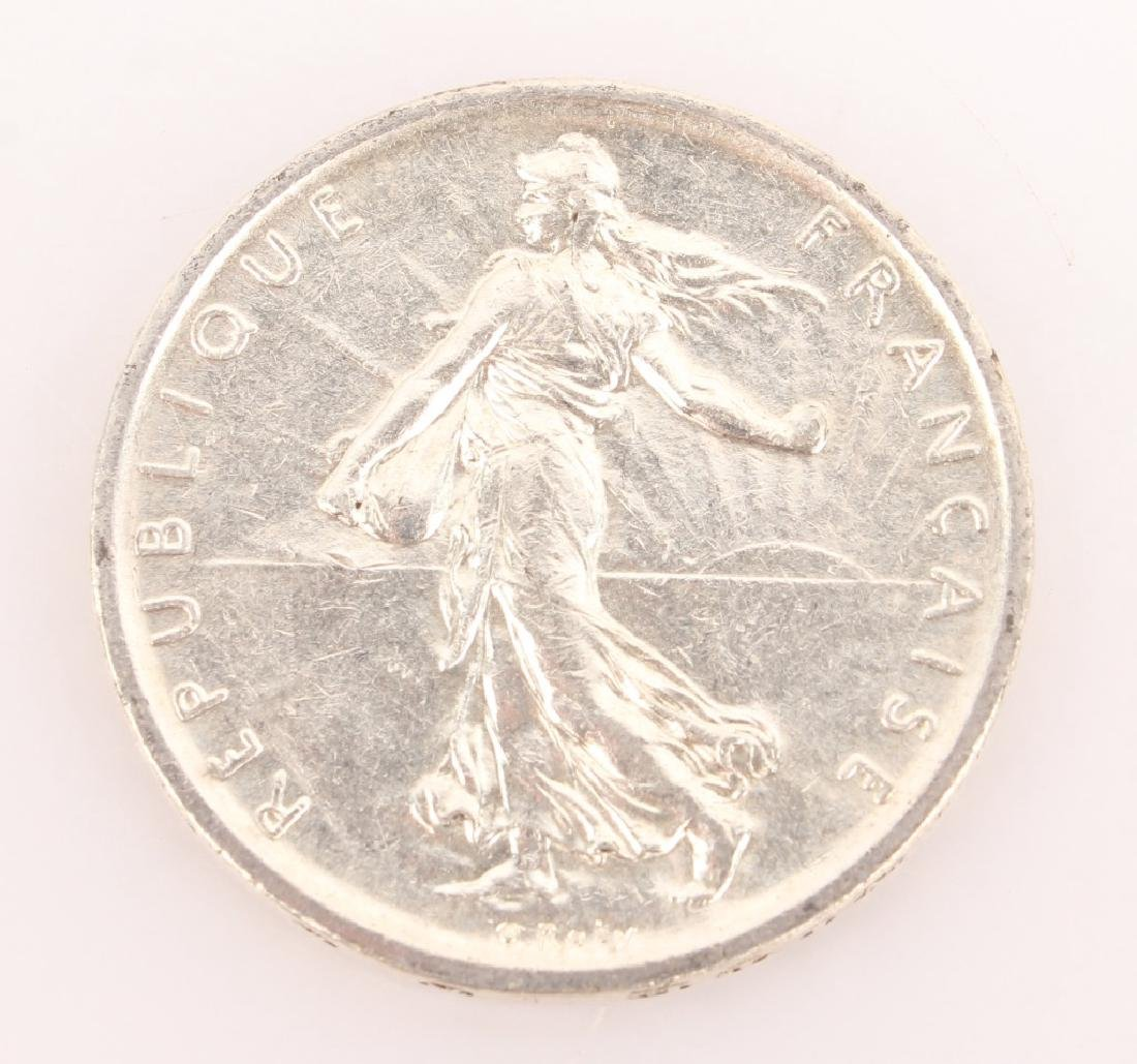 18 COIN LOT SILVER FRENCH 5 FRANCS 1960-1965 - 2