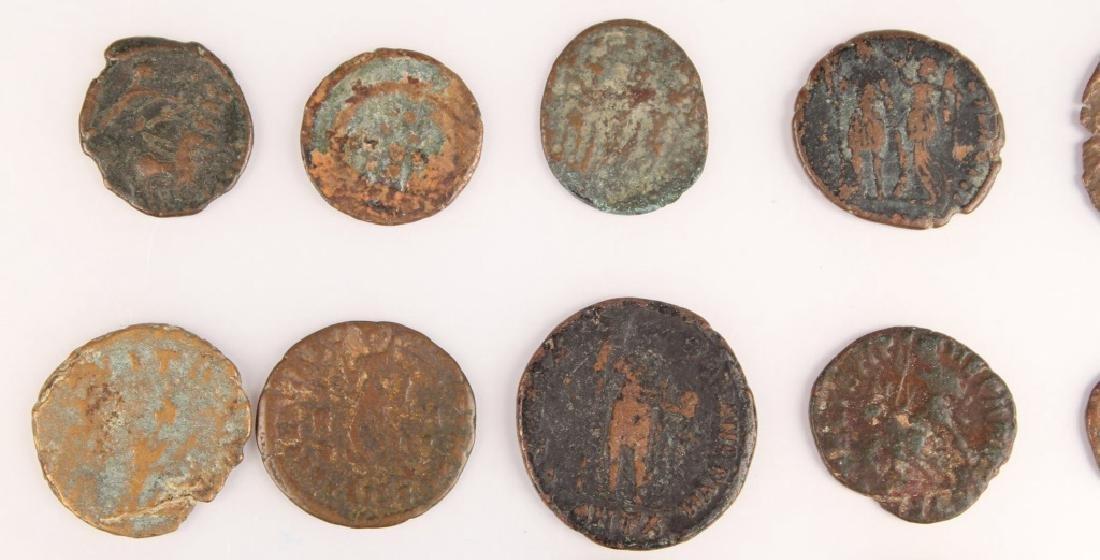 20 MIXED ANCIENT GREEK & ROMAN COPPER COINS - 2