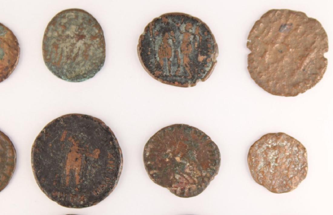 20 MIXED ANCIENT GREEK & ROMAN COPPER COINS - 3
