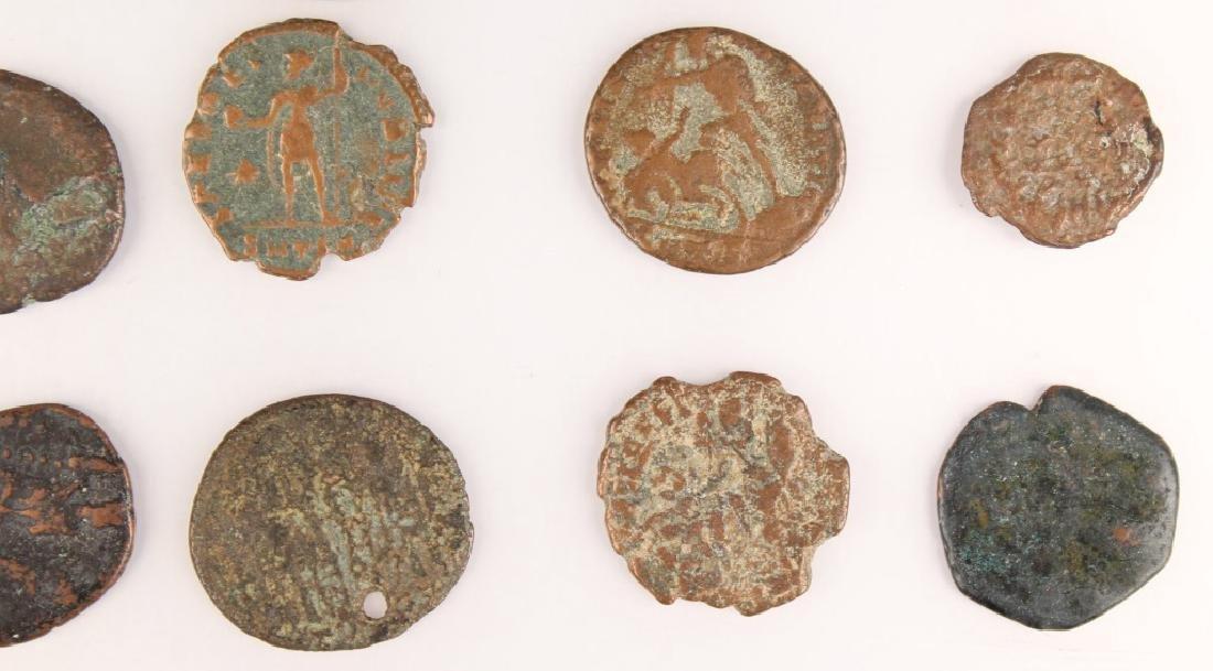 20 MIXED ANCIENT GREEK & ROMAN COPPER COINS - 4