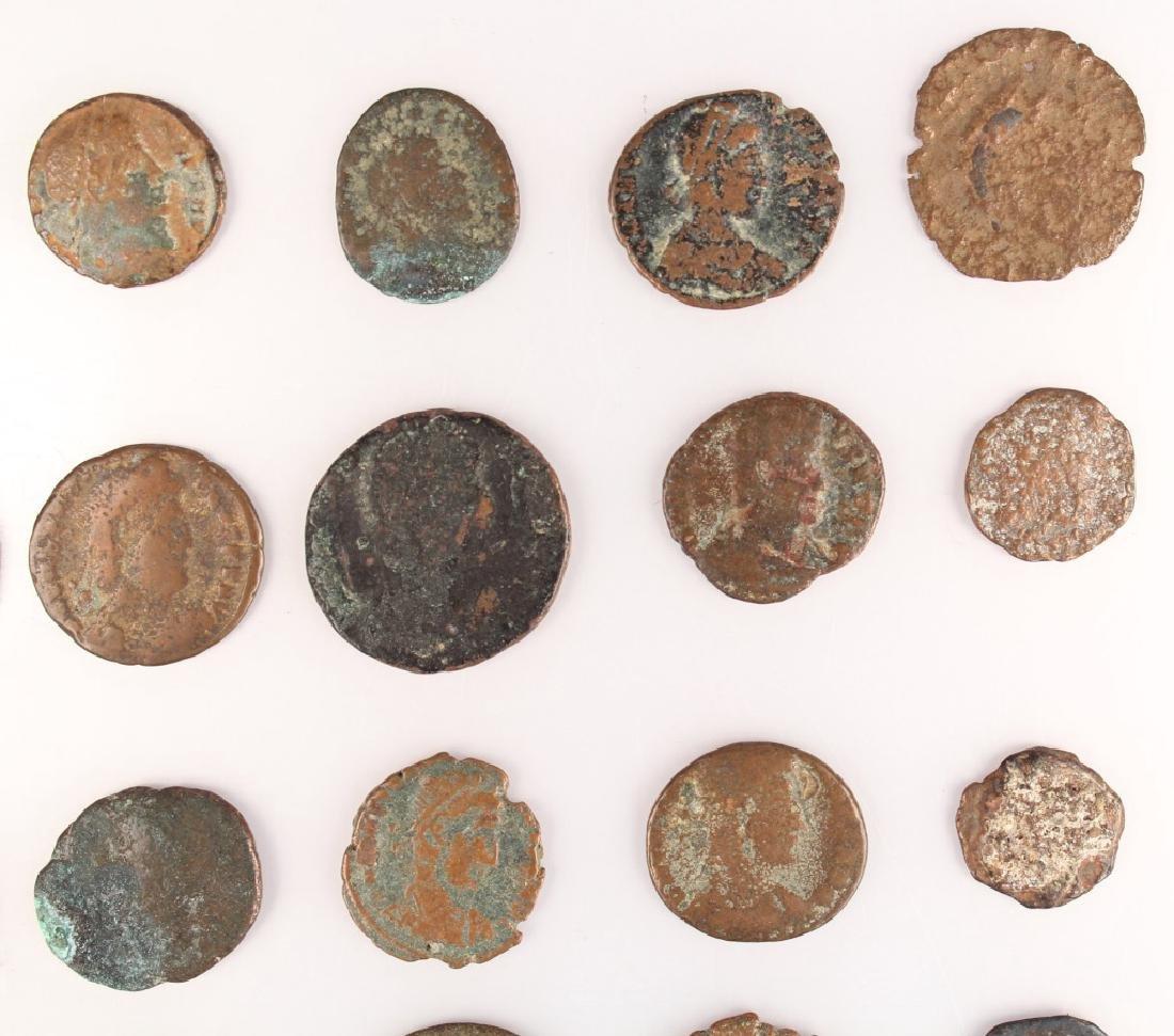 20 MIXED ANCIENT GREEK & ROMAN COPPER COINS - 8
