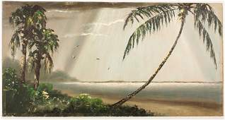 1950s HAROLD NEWTON FLORIDA HIGHWAYMEN OIL BOARD