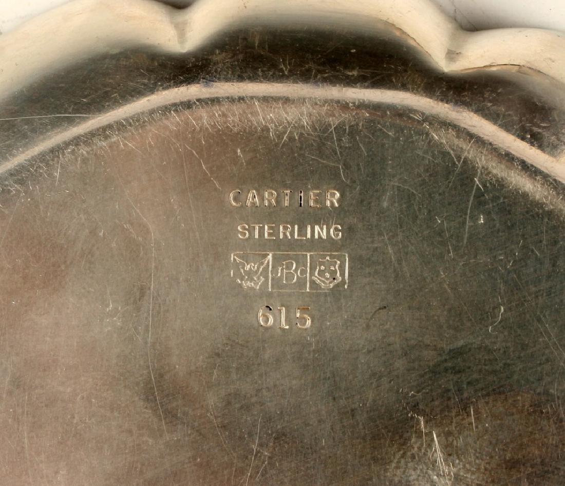 J.C. BOARDMAN CARTIER STERLING SILVER COASTERS - 2