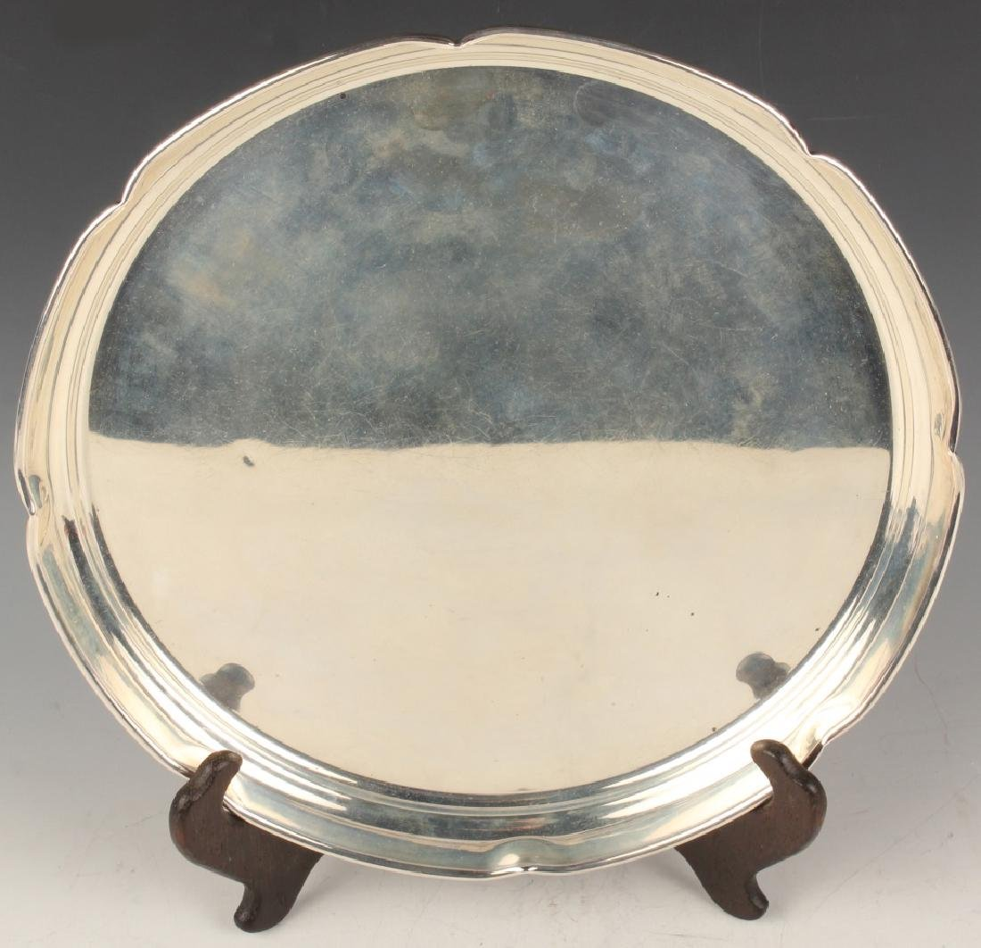CARTIER NEW YORK STERLING SILVER TRAY