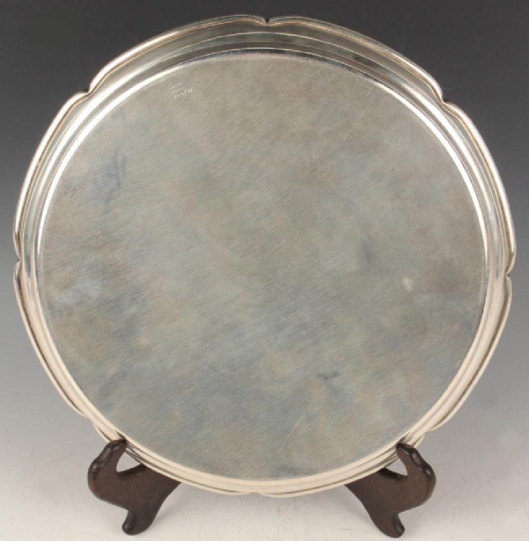 CARTIER NEW YORK STERLING SILVER TRAY - 2
