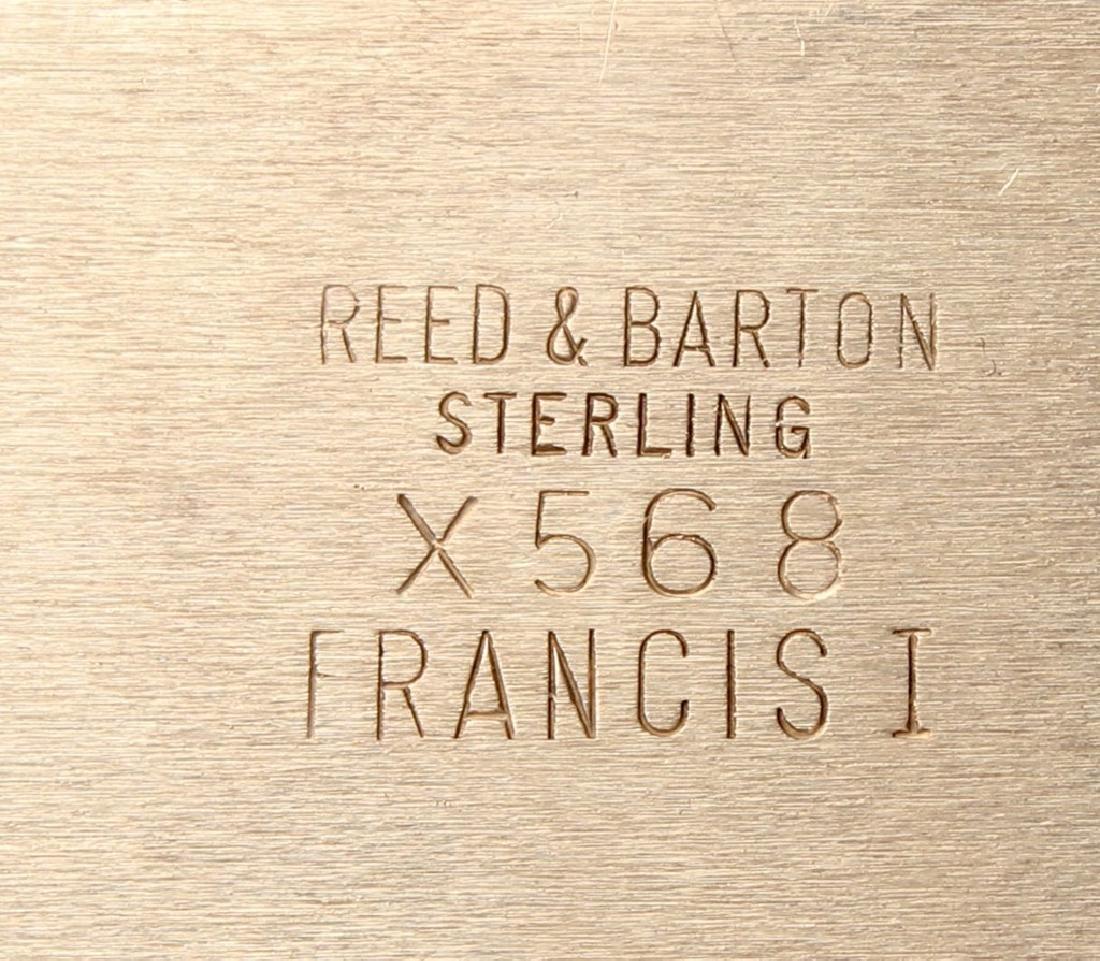 REED & BARTON STERLING SILVER FRANCIS I DISH - 3