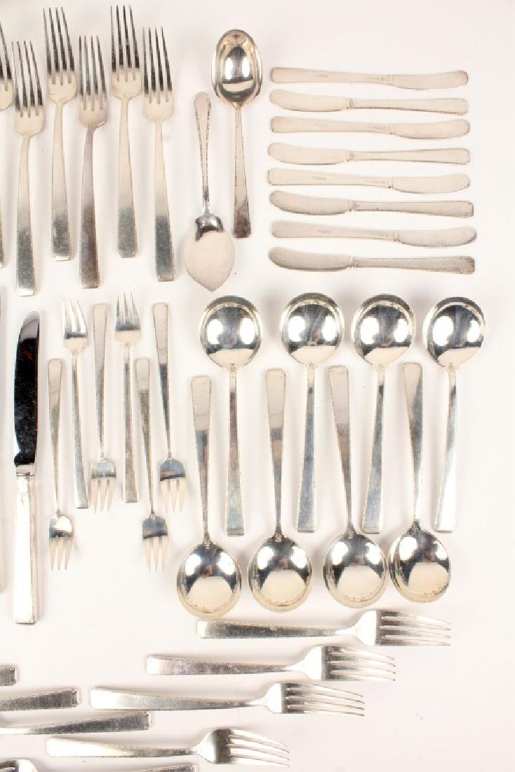 69 PC TOWLE STERLING SILVER OLD LACE FLATWARE SET - 3