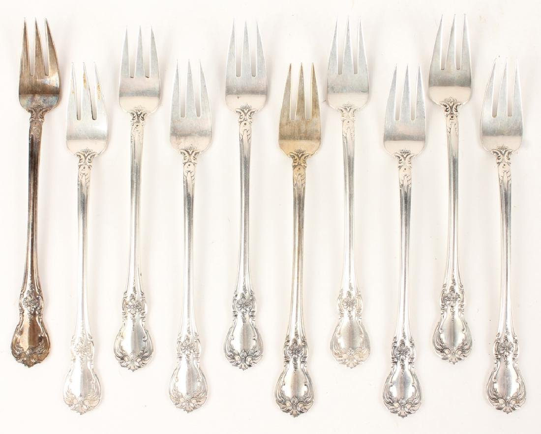 10 TOWLE CARTIER STERLING SILVER OLD MASTER FORKS