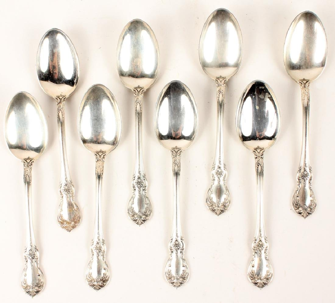 8 TOWLE CARTIER STERLING SILVER OLD MASTER SPOONS