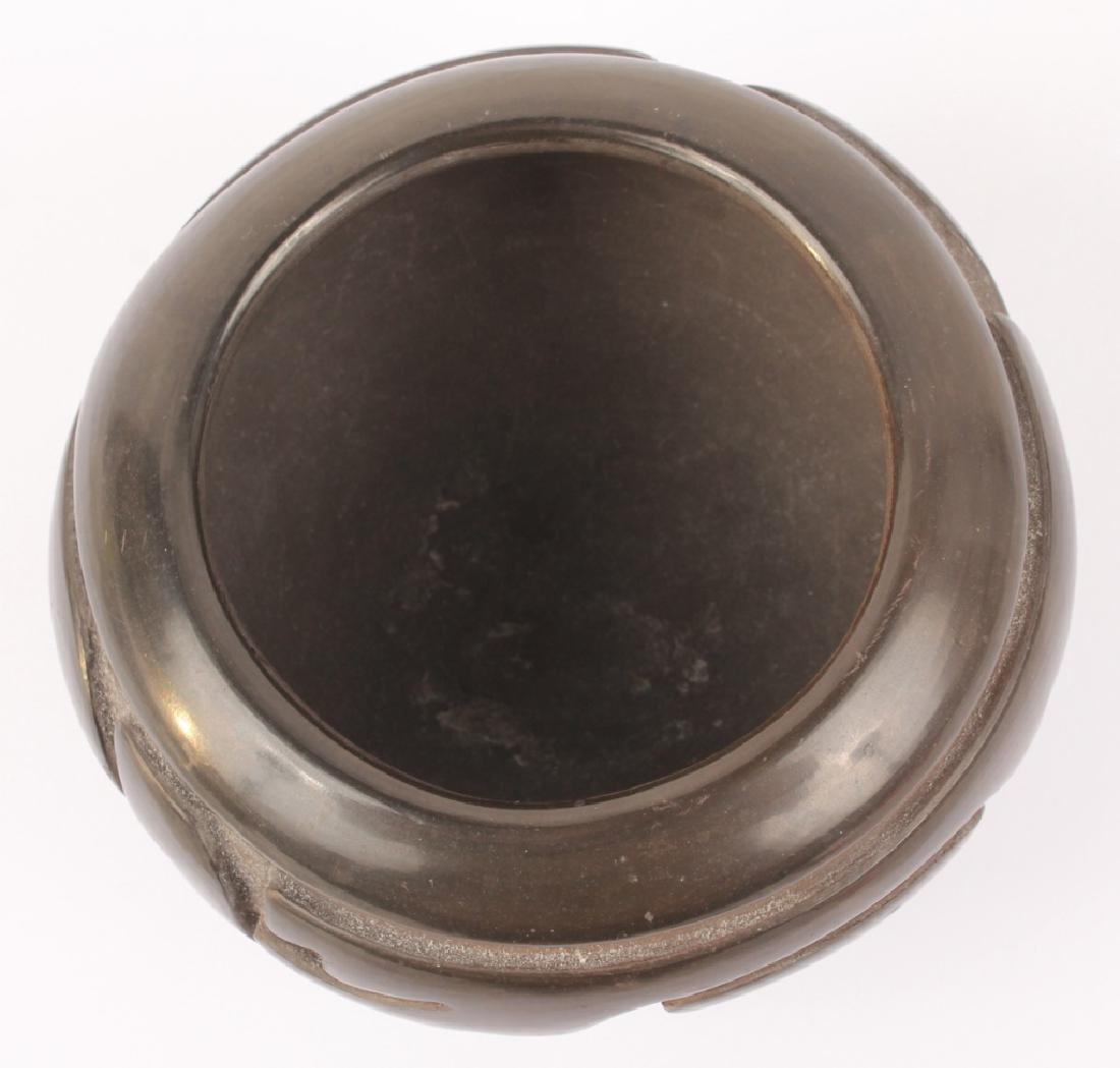 DENISE MARTINEZ SANTA CLARA BLACKWARE JAR - 3