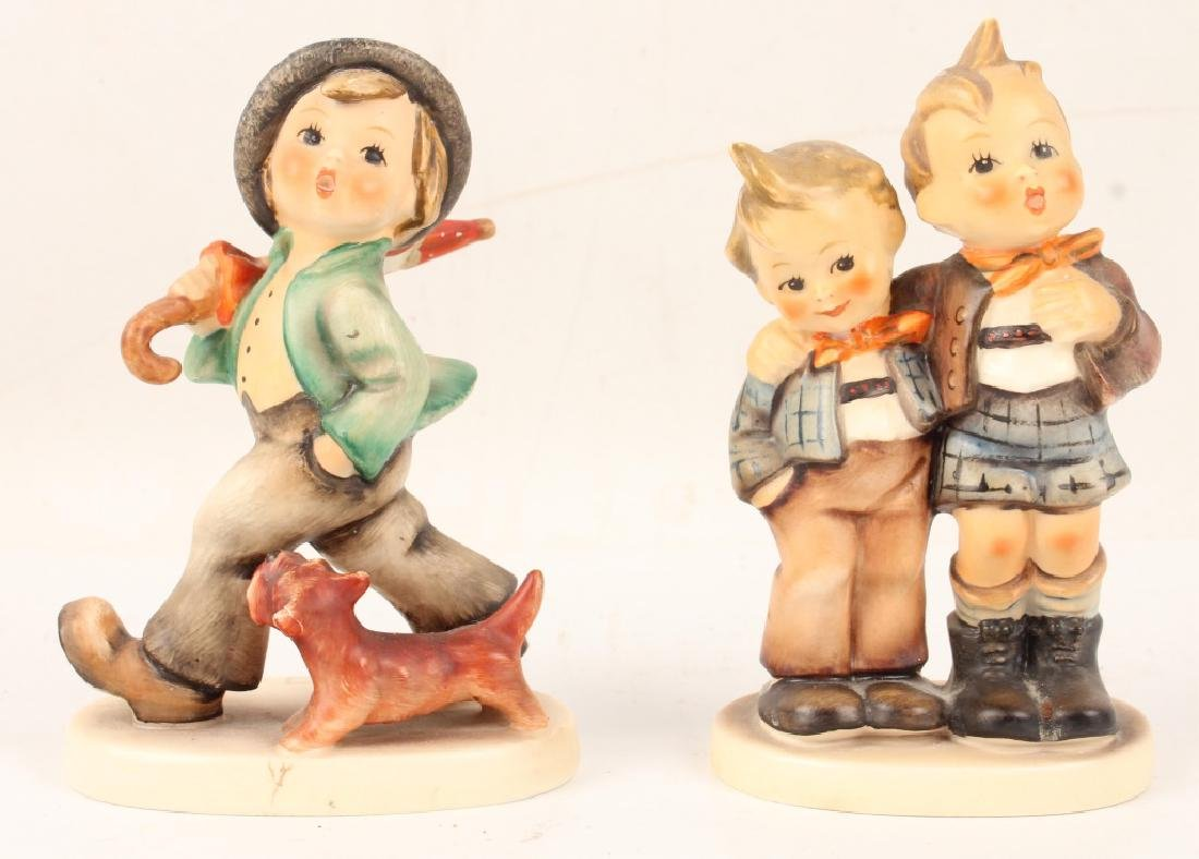 PAIR OF GOEBEL HUMMEL FIGURINES
