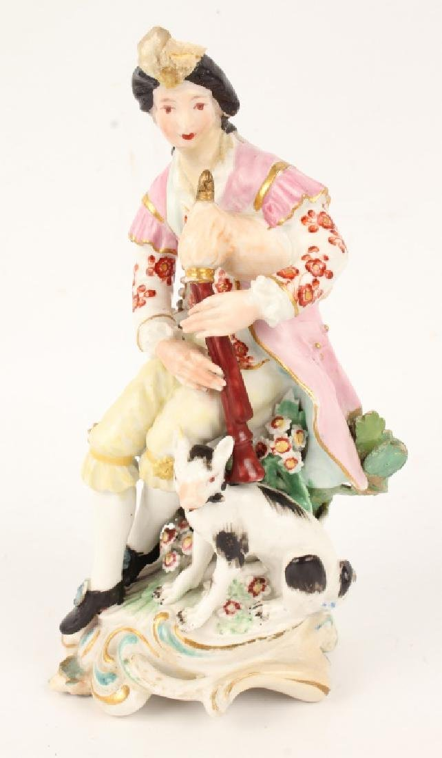 FOUR 20TH CENTURY EUROPEAN PORCELAIN FIGURINES - 4