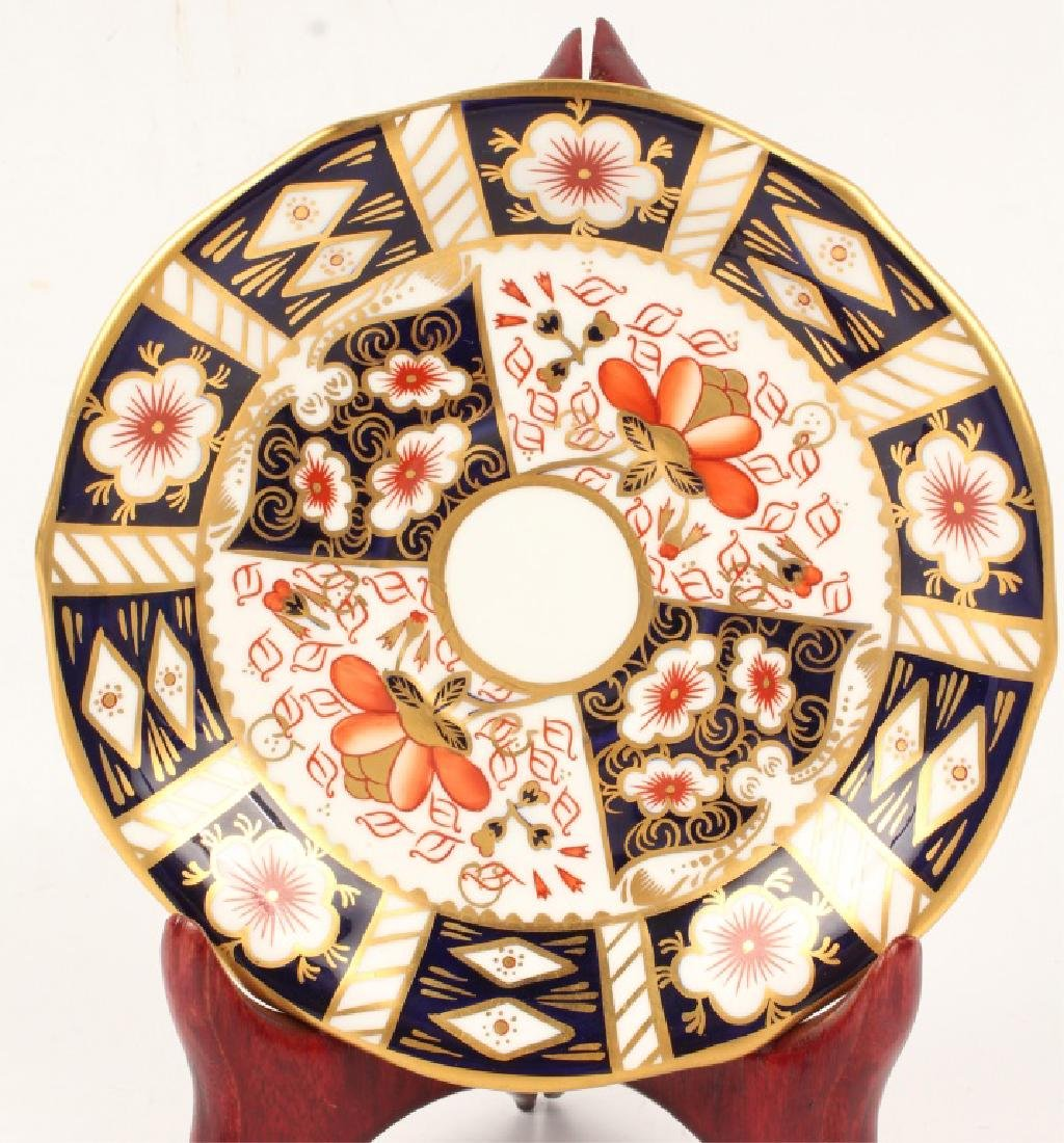 ROYAL CROWN DERBY IMARI DEMITASSE CUP & SAUCER - 2
