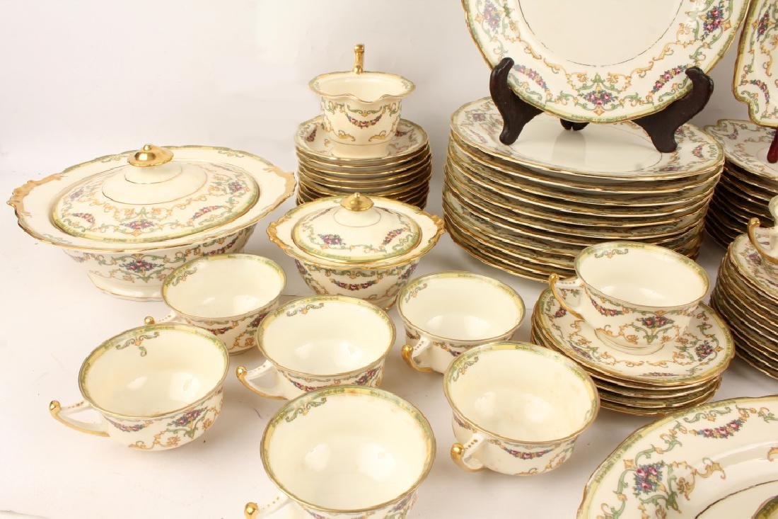 72 PIECES OF ROYAL EPIAG FLORAL SWAG DINNERWARE - 2