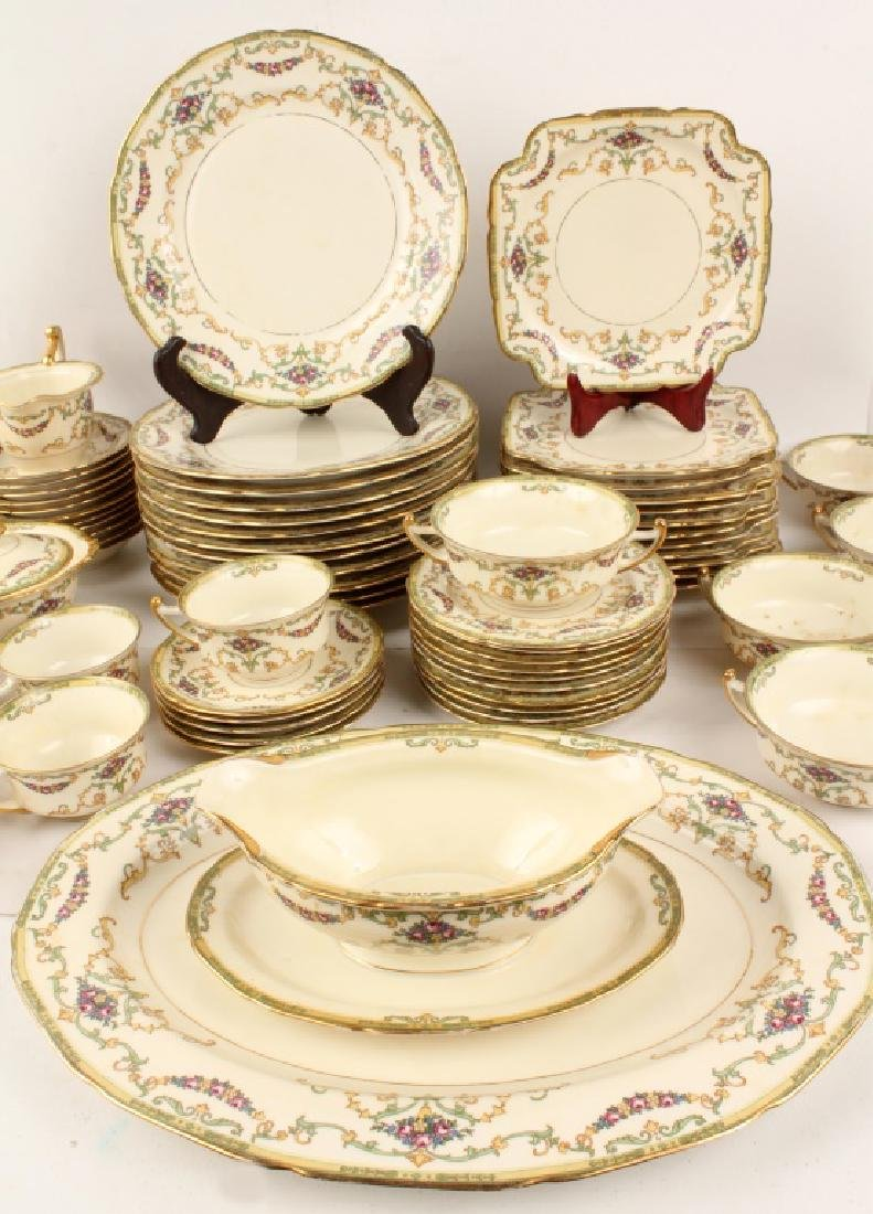 72 PIECES OF ROYAL EPIAG FLORAL SWAG DINNERWARE - 3