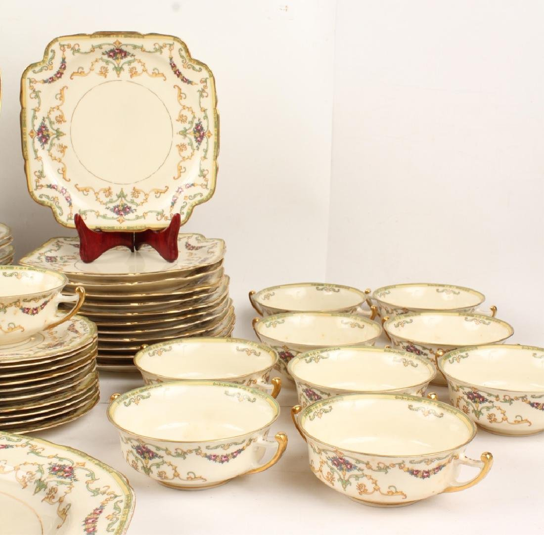 72 PIECES OF ROYAL EPIAG FLORAL SWAG DINNERWARE - 4