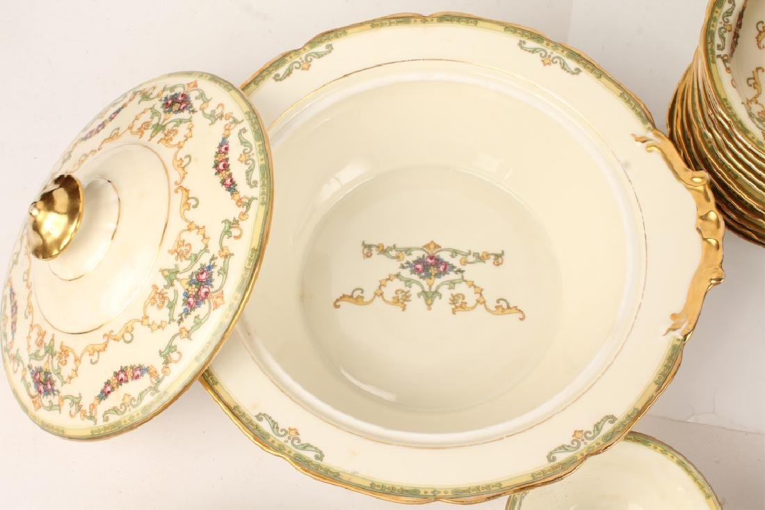 72 PIECES OF ROYAL EPIAG FLORAL SWAG DINNERWARE - 6