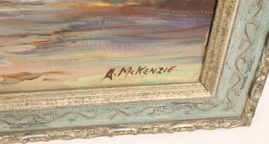 ARTIE MCKENZIE OIL SEASCAPE PAINTING - 3