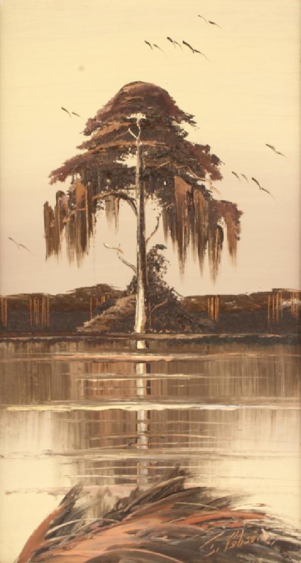 JAMES GIBSON FLORIDA HIGHWAYMEN CYPRESS TREE - 2