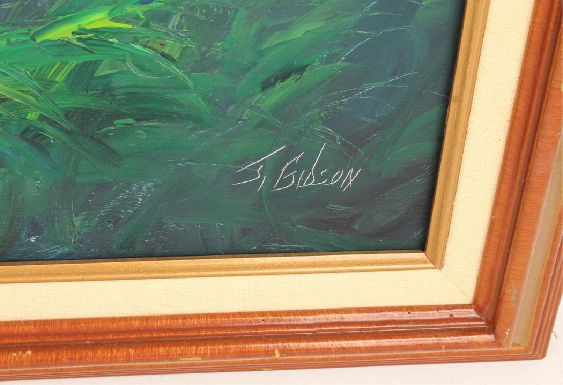 JAMES GIBSON FLORIDA HIGHWAYMEN RIVER SUNRISE OIL - 3